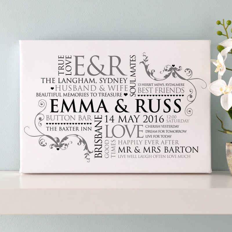 Personalised Couples Word Art Pinterest Word Art Buy Gifts