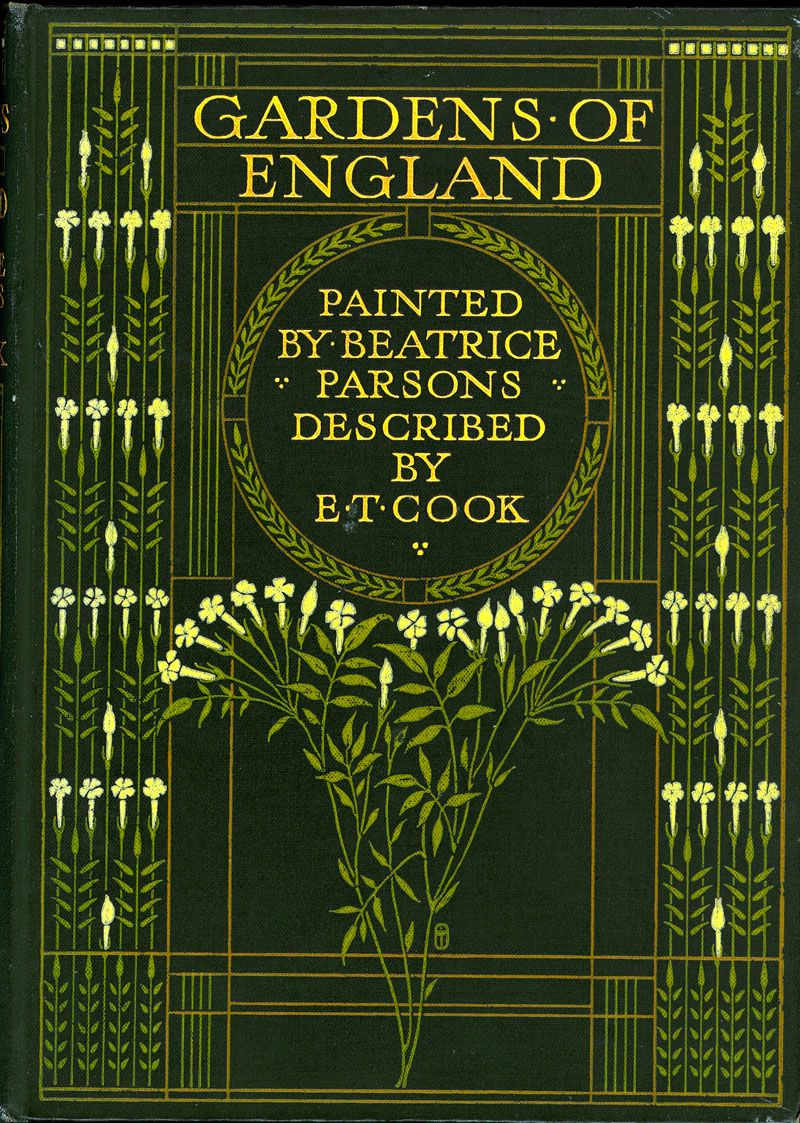 Gardens Of England By E T Cook London A C Black 1908