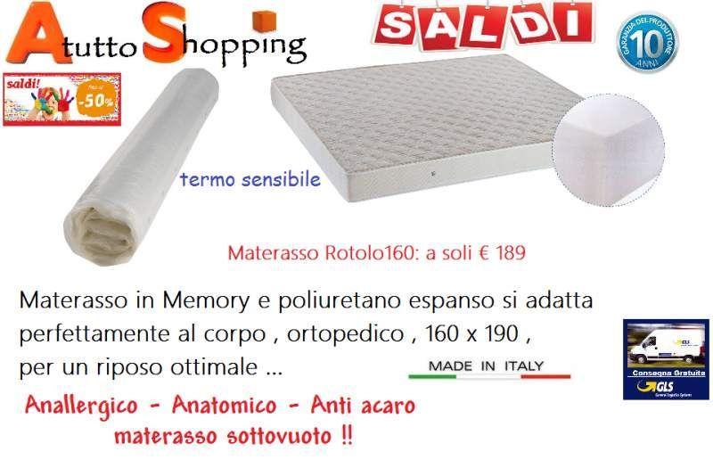 Materassi Memory Reggio Emilia.Materasso In Memory E Poliuretano Materasso Ebay Reggio Emilia