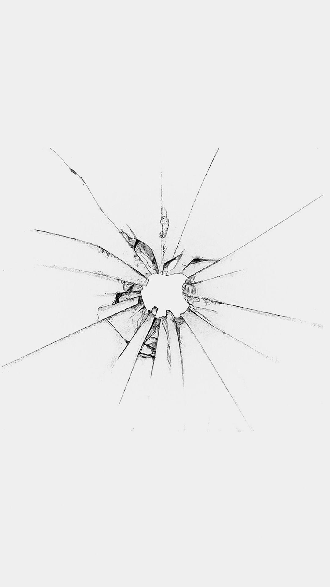 Apple Logo Window White Broken iPhone 6 wallpaper Apple