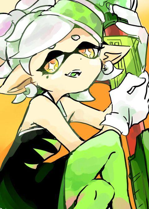 「【マイイカ】すぷらとぅんまとめ【番外編】※再投稿」/「とぅるう」の漫画 [pixiv] #SquidSisters #Marie