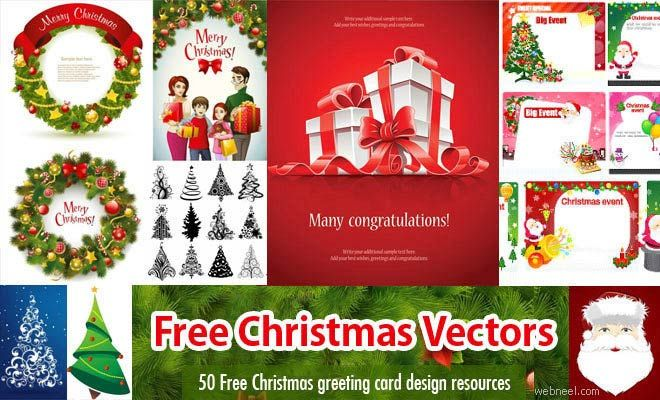 60 free christmas vector design resource for greeting cards and 60 free christmas vector design resource for greeting cards and websites eps ai svg m4hsunfo