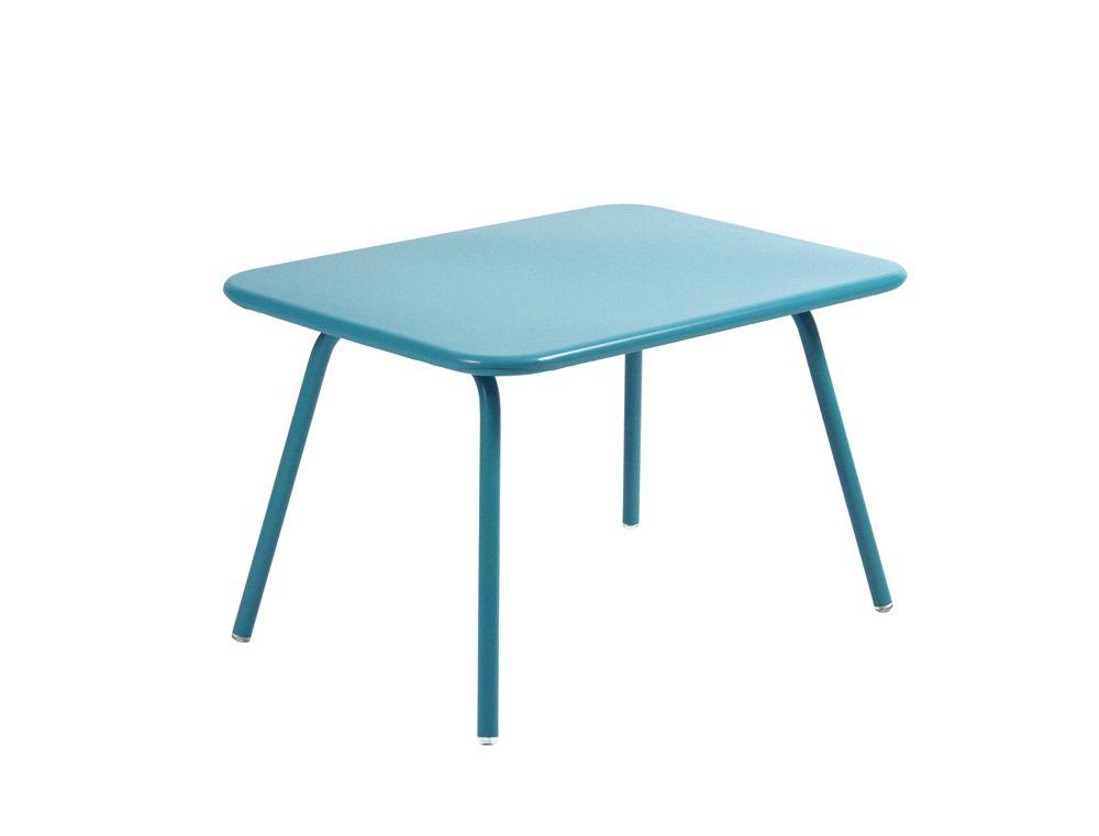 Table Luxembourg Kid, table de jardin pour enfant   Fer à ...