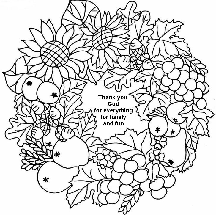 Autumn Thank You God Coloring Page Thanksgiving Coloring Pages Fall Coloring Pages Free Halloween Coloring Pages