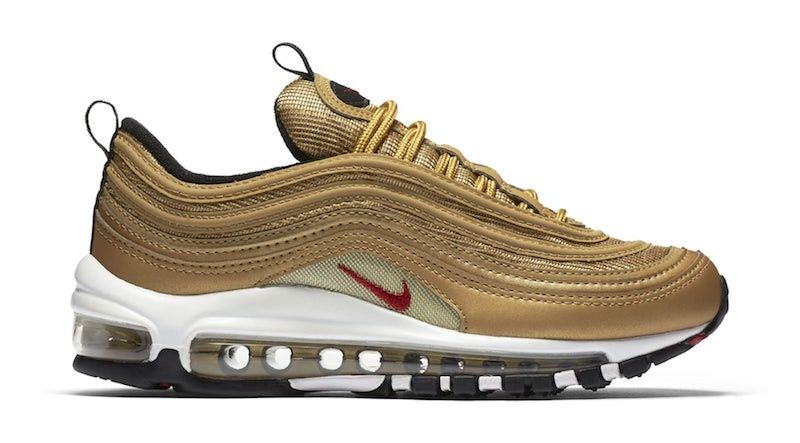 the best attitude 8ed99 e6d75 Nike Air Max 97 OG Metallic Gold For the 20th Anniversary of Air Max 97 Nike  will continues realizing Air