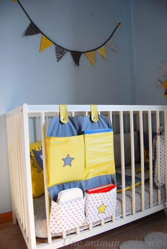 vide poche de lit b b pinterest bebe vide poche et chambre b b. Black Bedroom Furniture Sets. Home Design Ideas