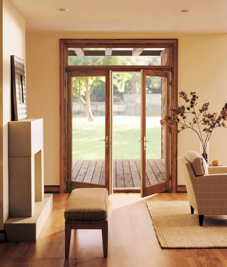 Marvin Hinged French Patio Door Interior