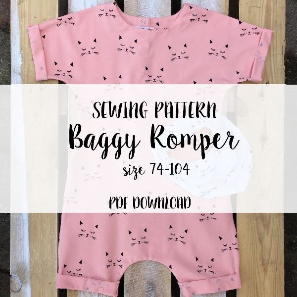 Baggy Romper size 74-104 (Download) | Bērniem | Pinterest
