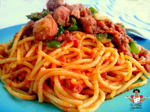 Jollof spaghetti recipe nigerian food recipes nigerian food and dobbys signature nigerian food blog nigerian food recipes african food blog jollof forumfinder Gallery