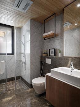 16 種乾溼分離的小浴室設計 Bathroom Design Bathroom Toilets