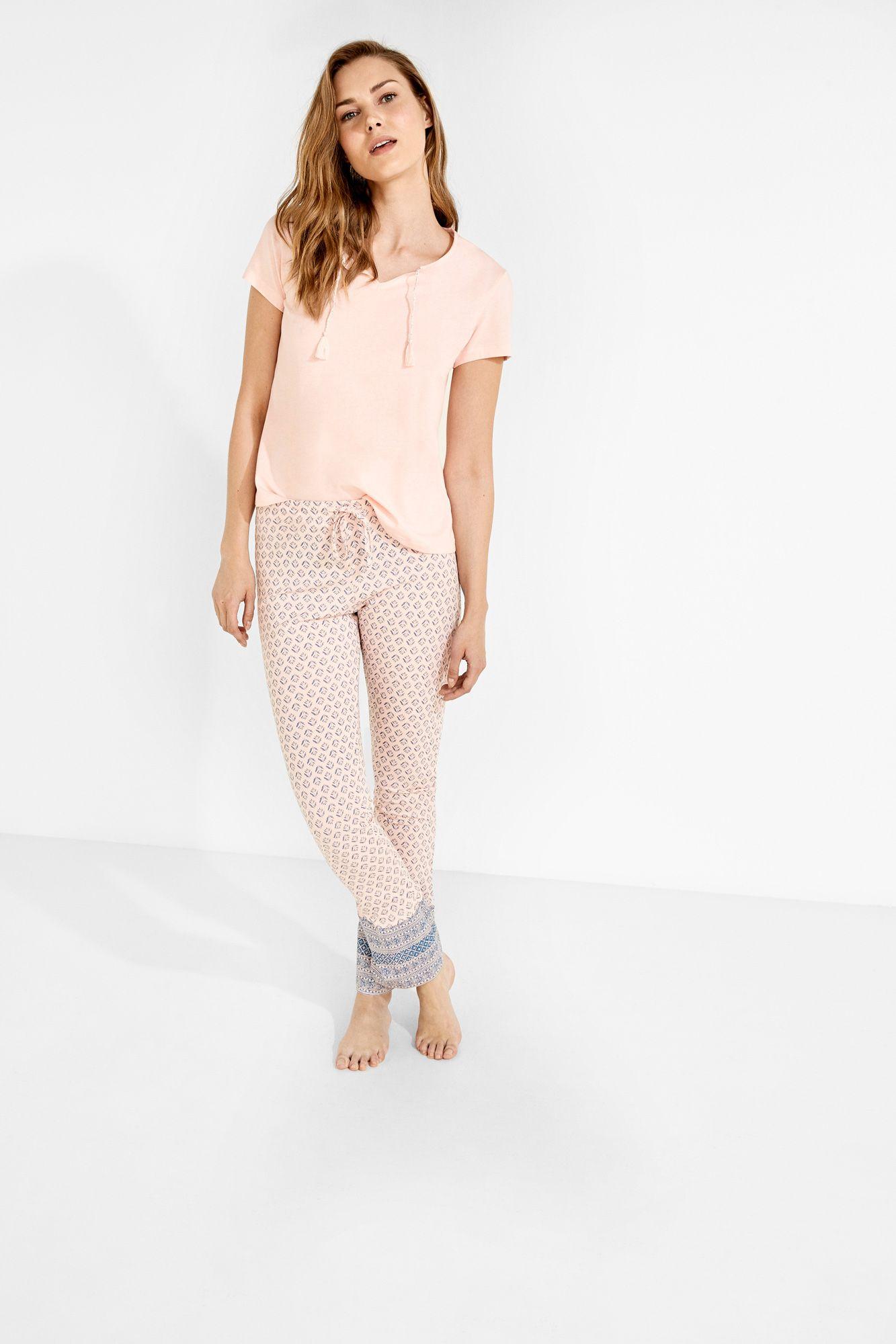 71238b9532 Pijama largo estampado
