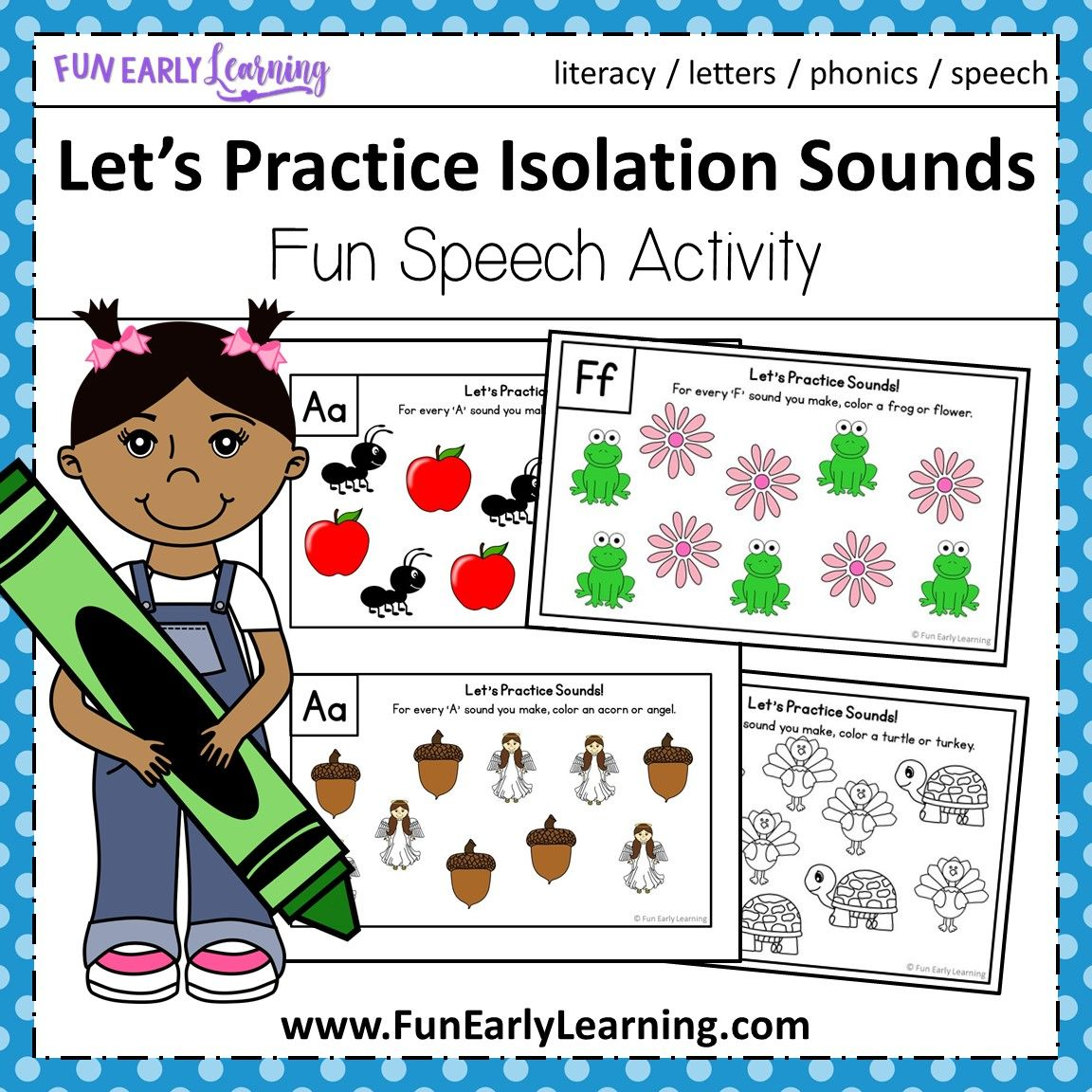 Let S Practice Isolation Sounds Activity