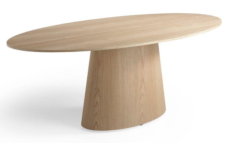 table ovale bois