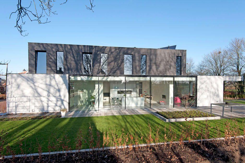 Moderne Kubistische Woning Twello Van Architectuur Studio Wezenberg Bv Modern House Styles Modern Buildings Architecture