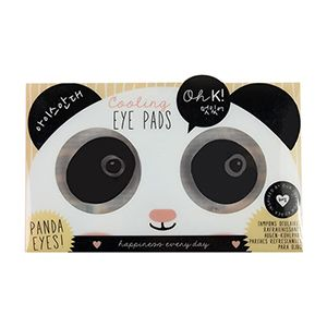 A Duo Of Panda Themed Cooling Eye Pads Especially Created To