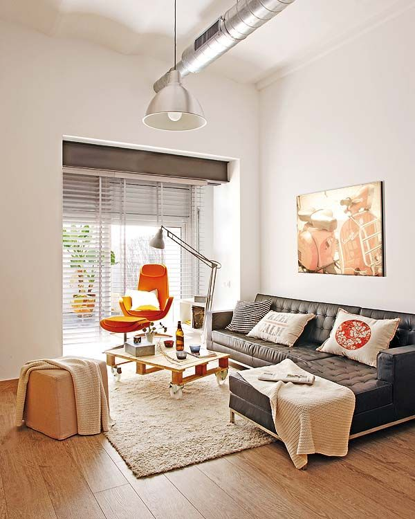 Small Apartment Redecoration in Barcelona Home Sweet Home