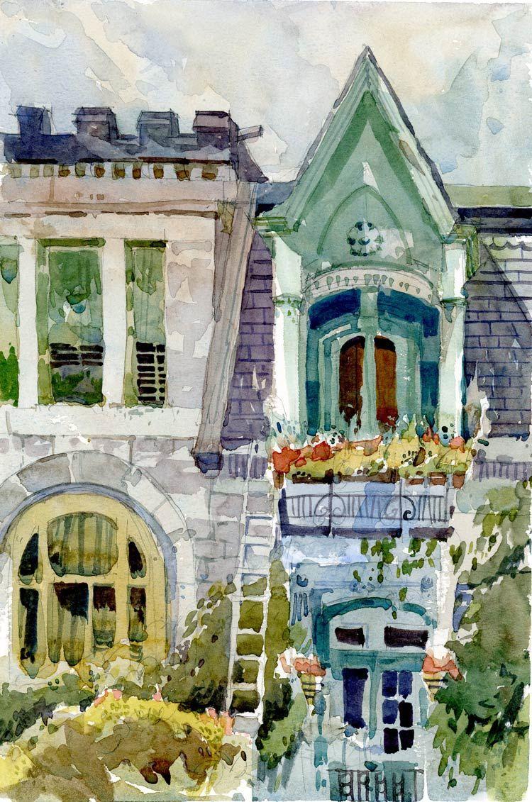 Shari Blaukopf Carre St Louis Victorian Watercolors