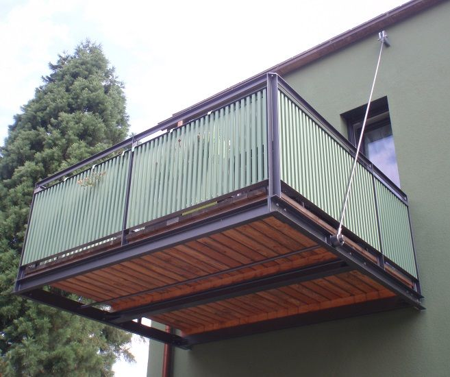Bildergebnis Fur Balkon Stahl Holz Balcony Balkon Stahl Und Holz