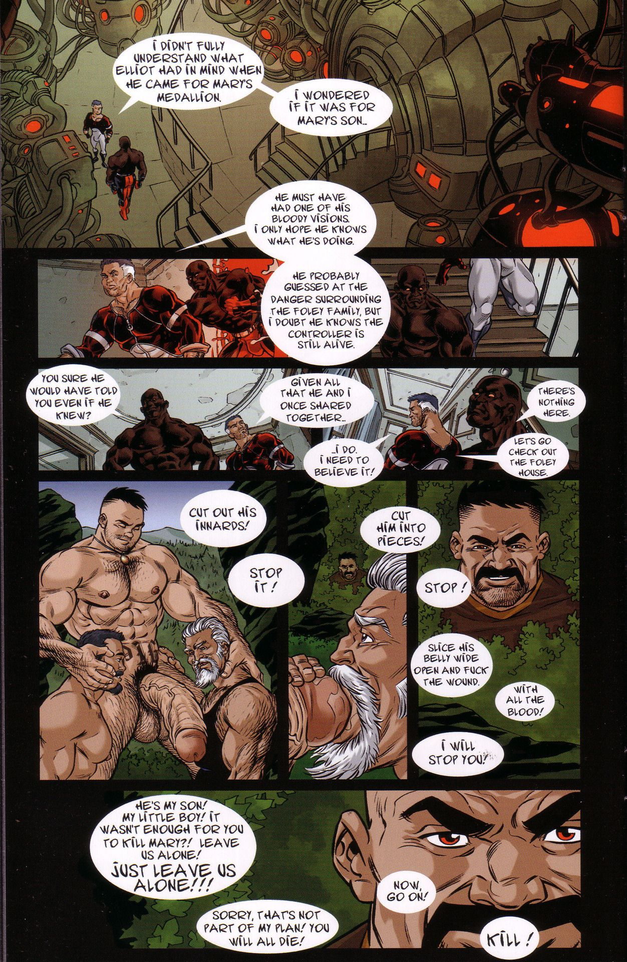 Porkey gay comics