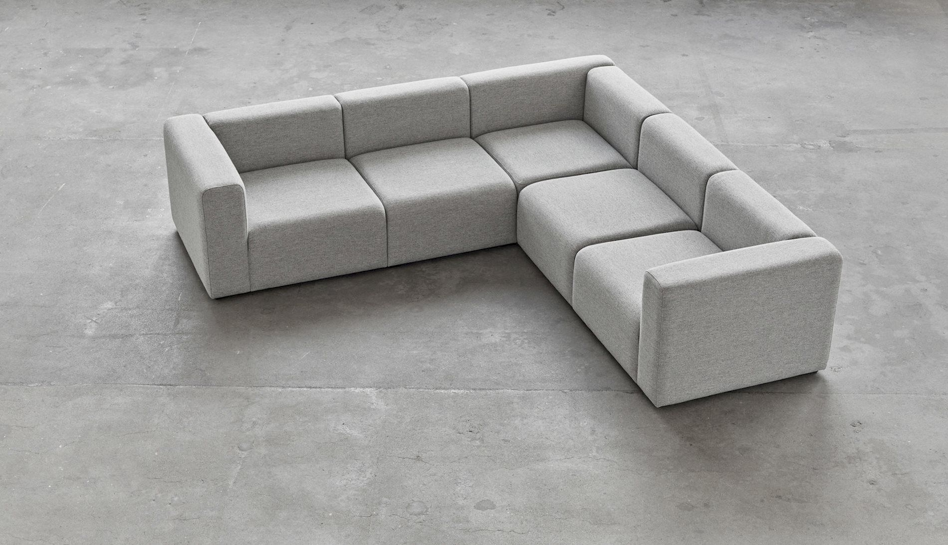 Mags sofa has many upholstery options which enables the