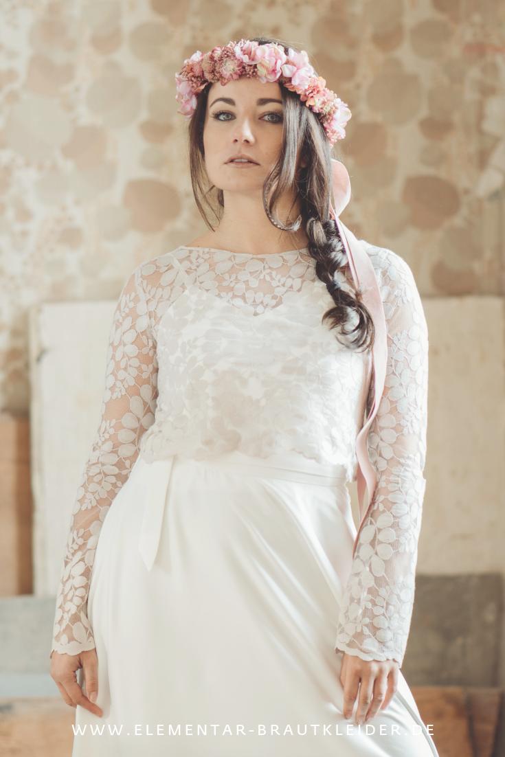 Wer vegan lebt und ein veganes Brautkleid oder einen modernen