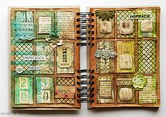 Art journal - pages & pages of ideas