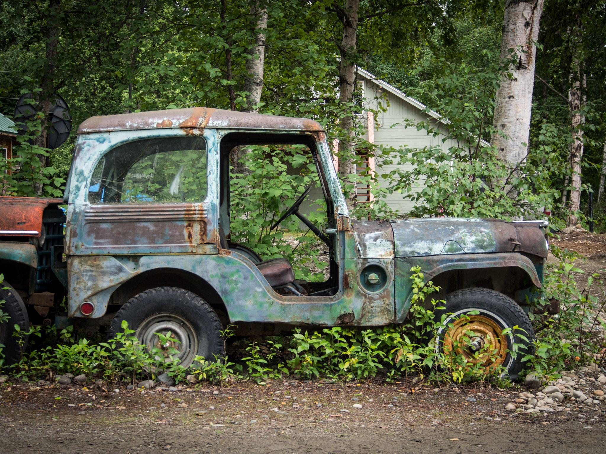 medium resolution of willys jeep m38a1 with custom hard top