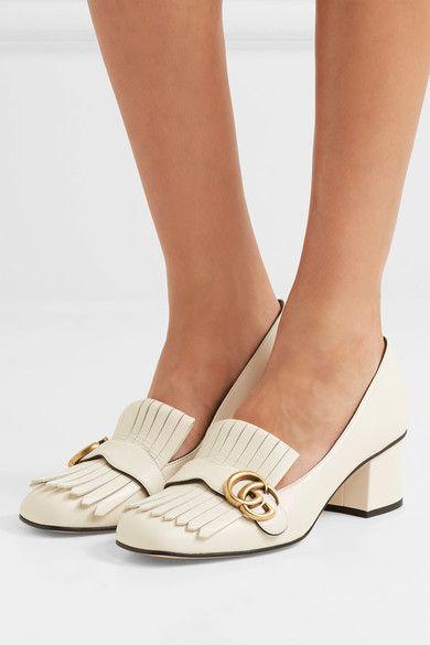 Leather pumps, Gucci heels