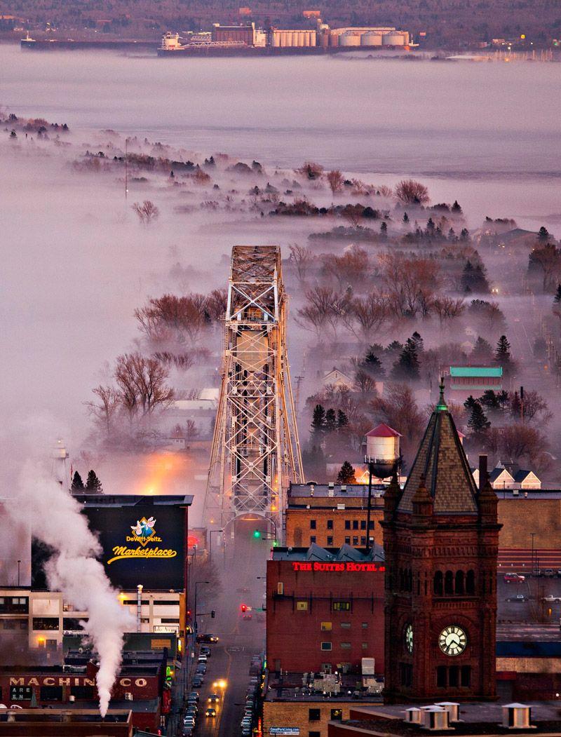 Foggy Duluth Derek Montgomery Photography Minnesota Travel Minnesota Life Duluth Minnesota