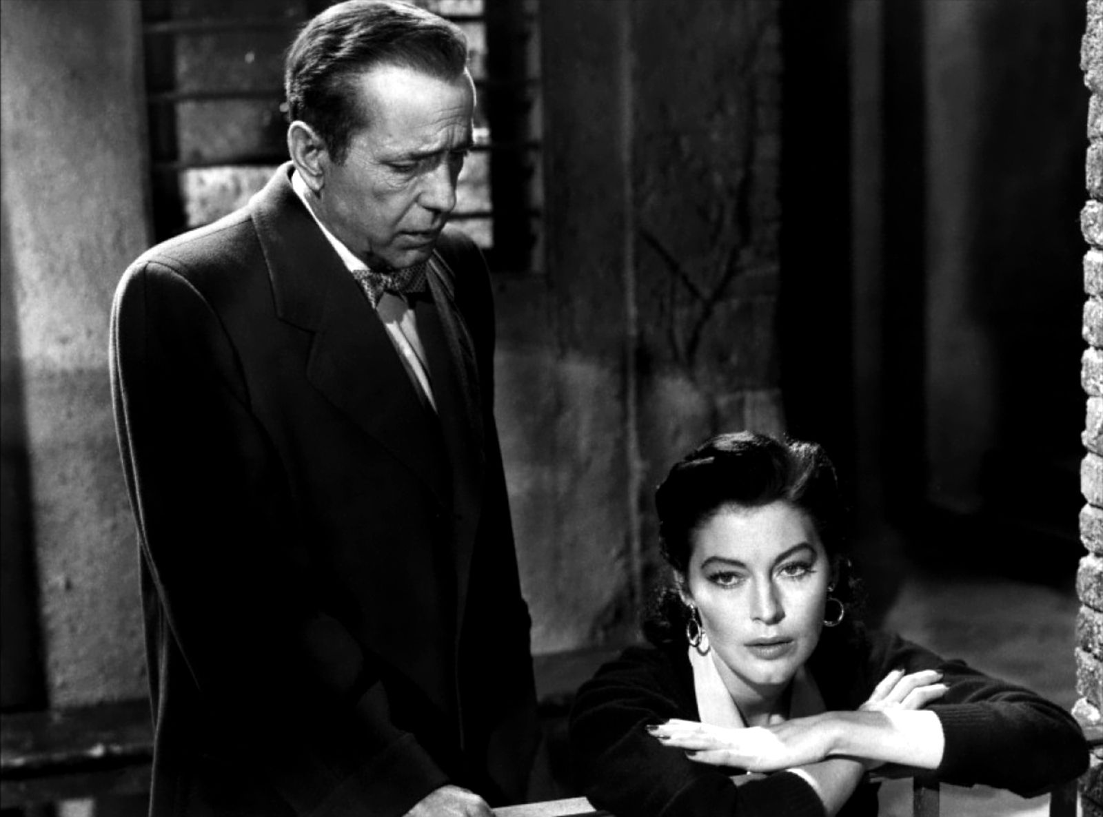 Humphrey Bogart With Ava Gardner The Barefoot Contessa