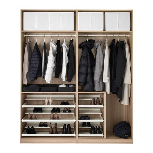 pax garderobekast 200x66x236 cm zachtsluitend beslag ikea keukens pinterest. Black Bedroom Furniture Sets. Home Design Ideas