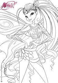 Bildergebnis für winx bloomix stella | Cartoon coloring ...