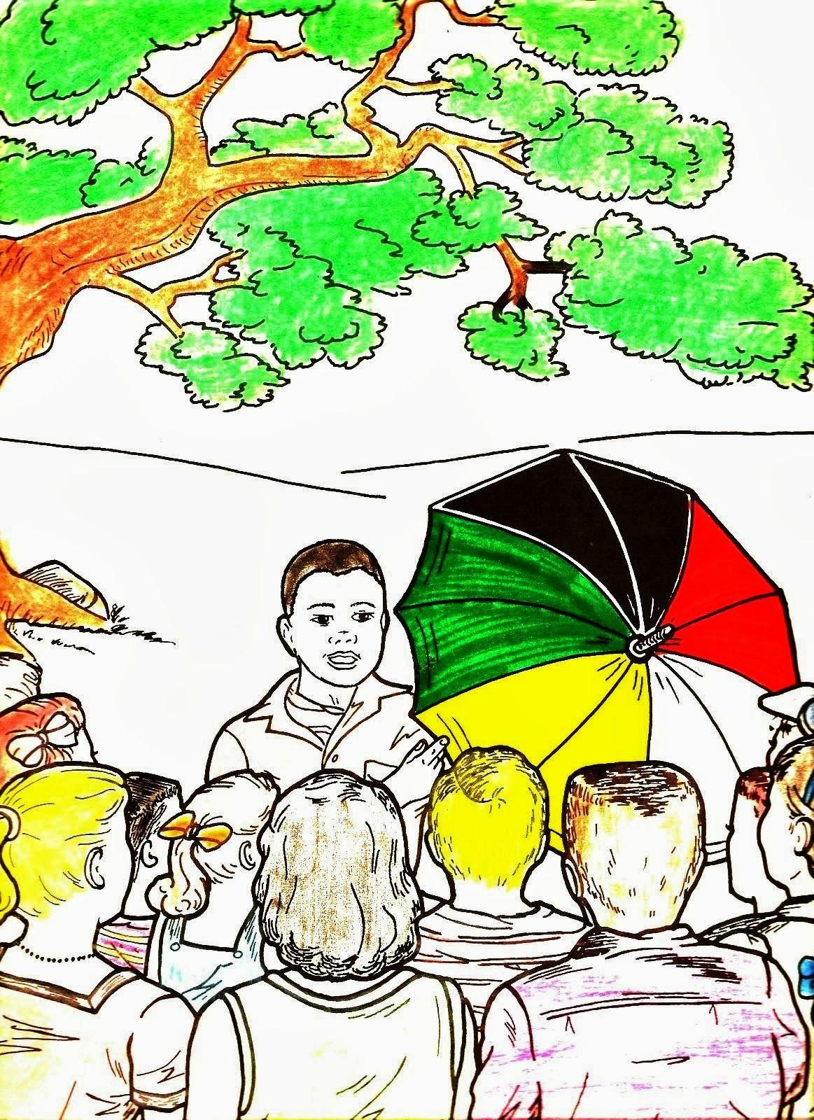 Evangelize Nossas Criancas Historia Infantil O Guarda Chuva