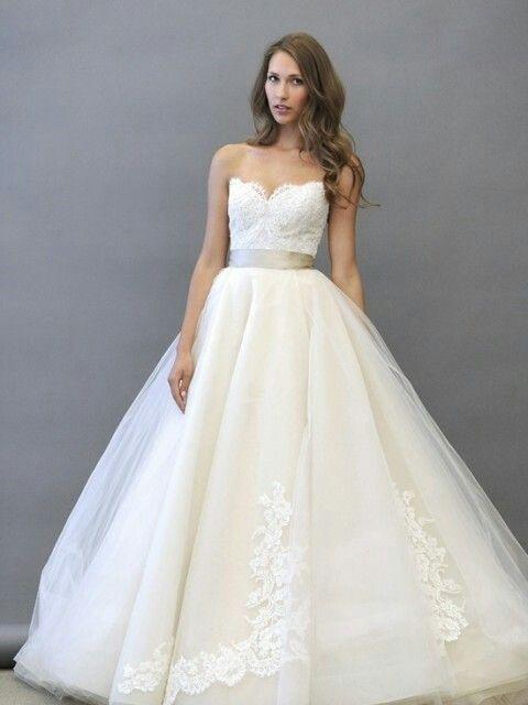 Ball Gown Wedding Dresses : lazaro 3251. | Wedding Desses : Ball ...