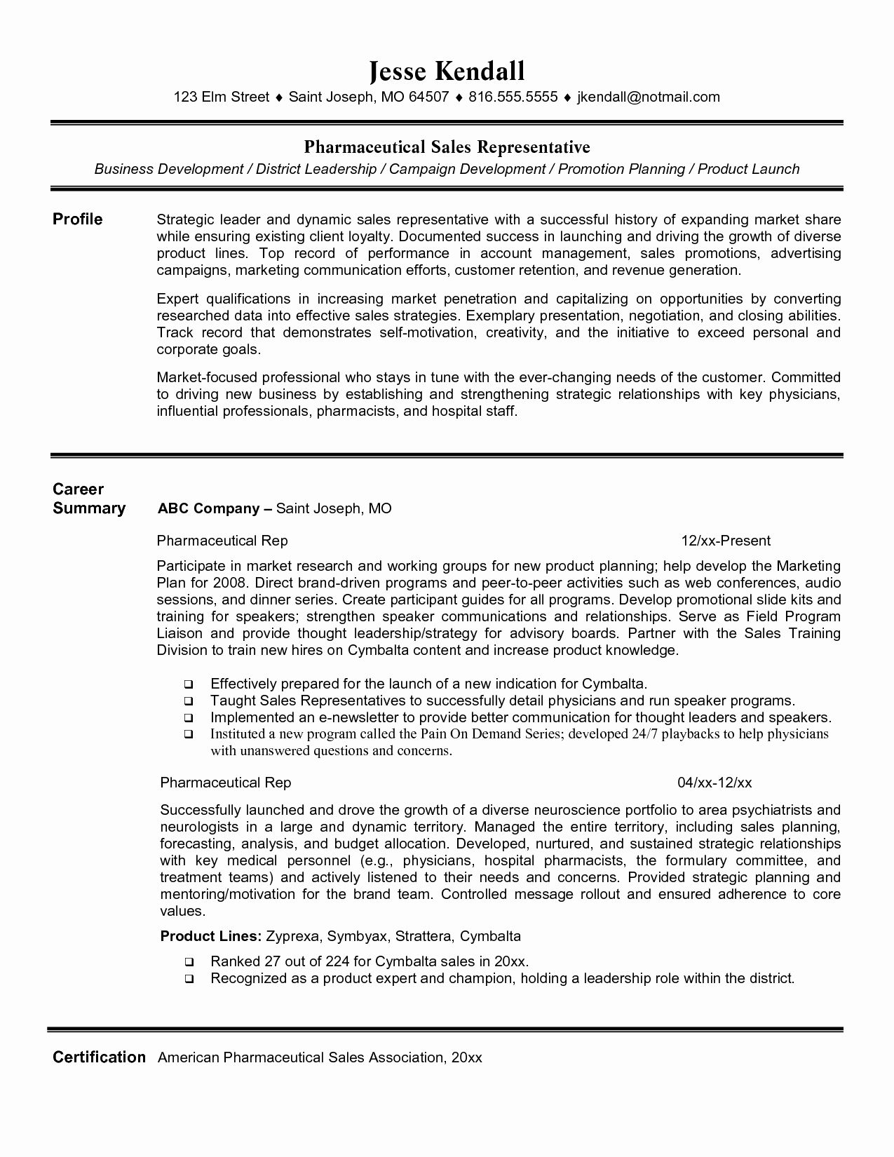 Inspirational Entry Level Pharmaceutical Sales Jobs Sales Resume Examples Pharmaceutical Sales Resume Sales Resume