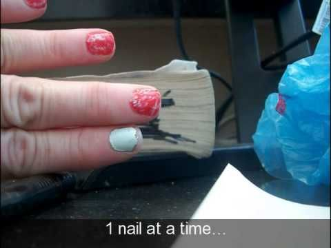 Simple Marbleized Manicure tutorial with Julep polish and free Maven Box...