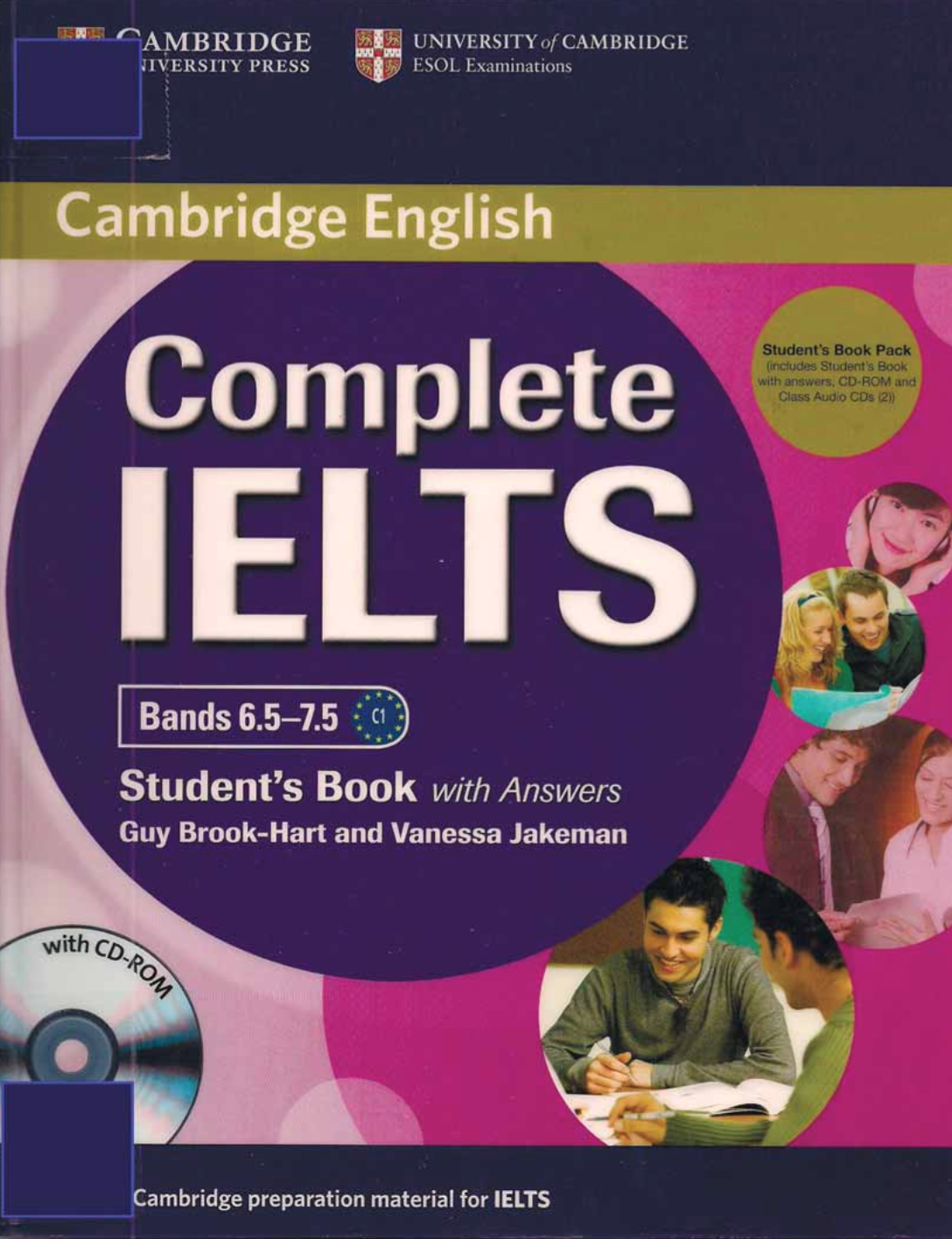 Ielts Test Materials:plete Ielts Bands 6575 Student's Book With  Answers With Cd