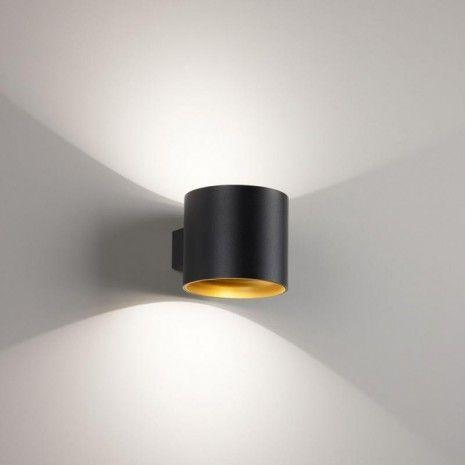 Delta Light Orbit Led 927 Dim8 Wall Lights Black Hal Verlichting