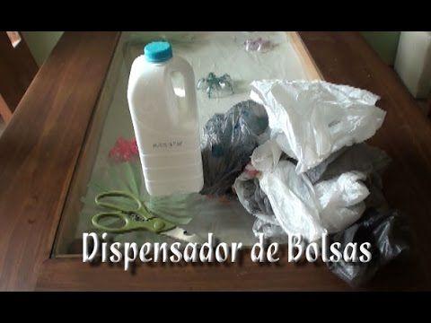 Como almacenar y hacer un dispensador de bolsas reciclar - Dispensador bolsas plastico ...