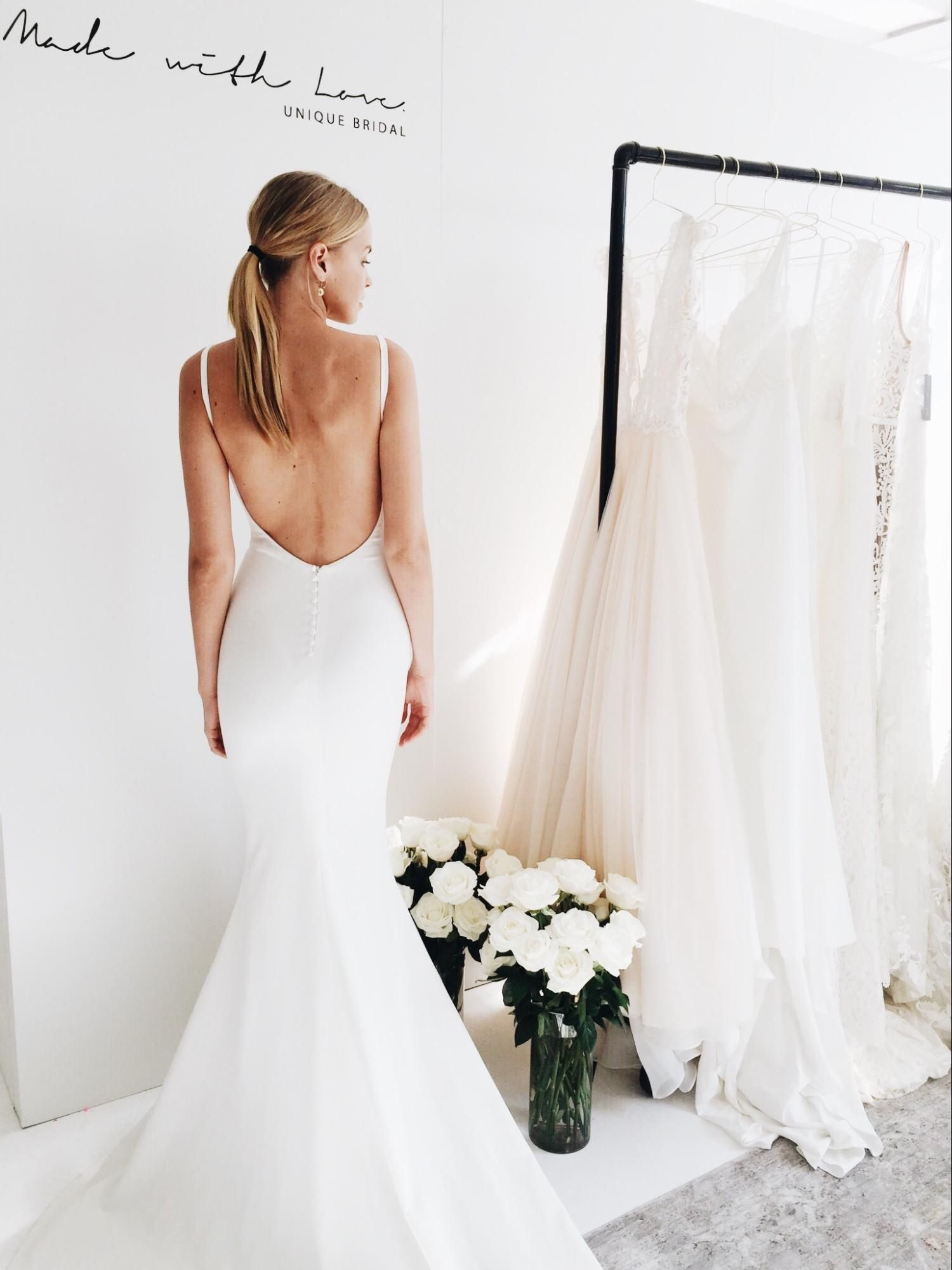 Wedding Dresses We Loved From New York Bridal Fashion Week | Pinterest