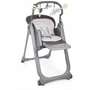 Buy Chicco Polly Magic Relax 4 Wheel Highchair Graphite Highchairs Low Chair Baby Chair Relax