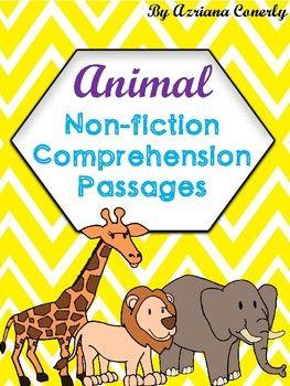 d1747931b64ca31d645c1236478313e5 this pack includes 8 animal nonfiction passages, venn diagrams, and