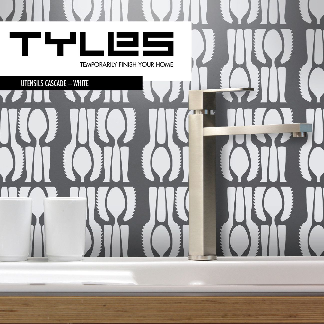 New Packaging And Branding For Tyles Great For A Kitchen - Vinyl wall decals backsplash