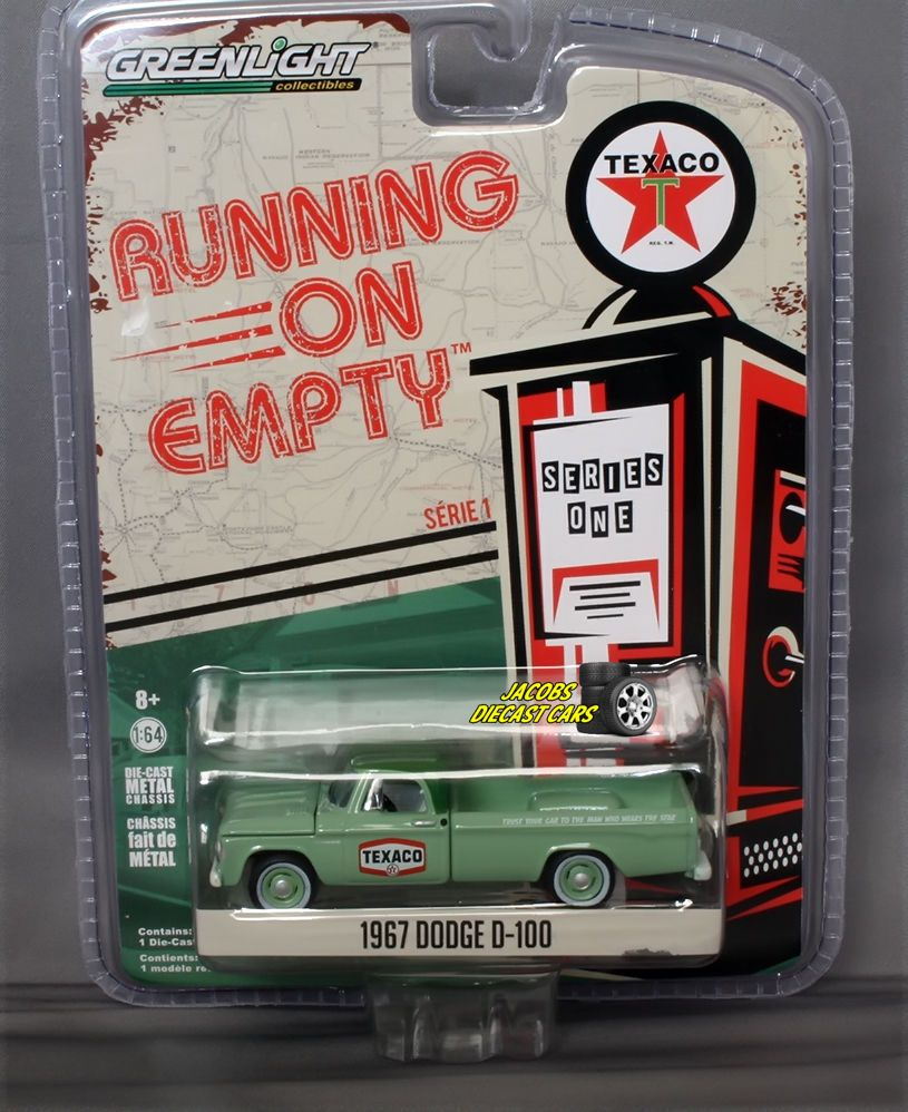 bb1417911e5d 1:64 GREENLIGHT RUNNING ON EMPTY SERIES 1 - 1967 DODGE D-100 ...