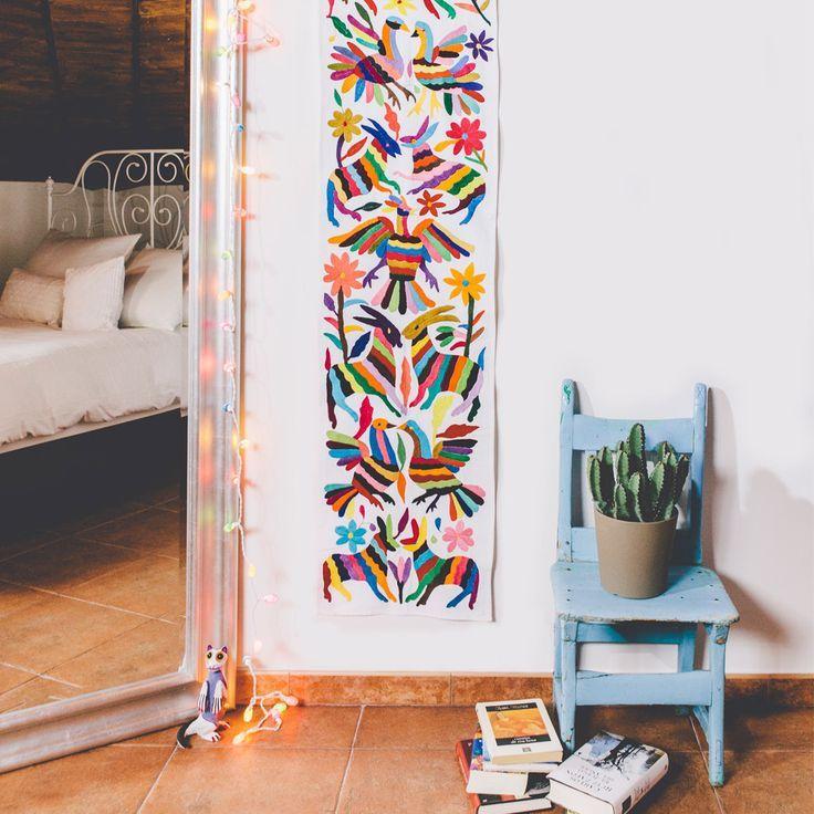 la d coration mexicaine c 39 est des couleurs des cactus des formes g om triques des broderies. Black Bedroom Furniture Sets. Home Design Ideas