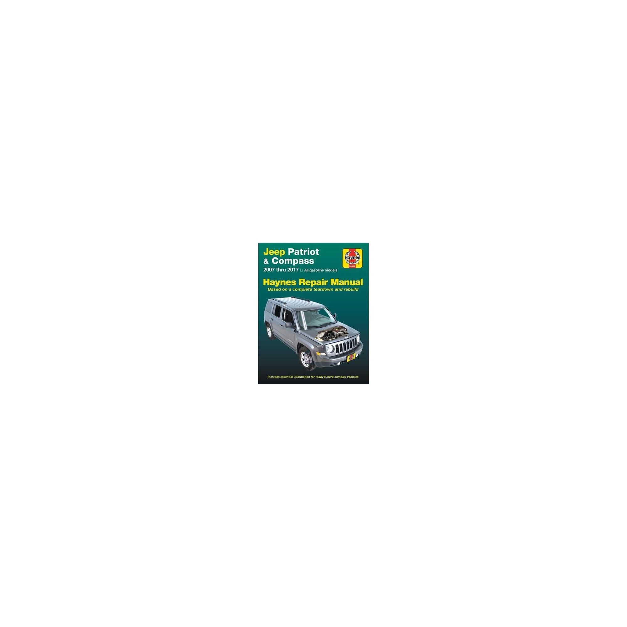 Jeep Patriot Compass 2007 Thru 2017 Haynes Repair Manual