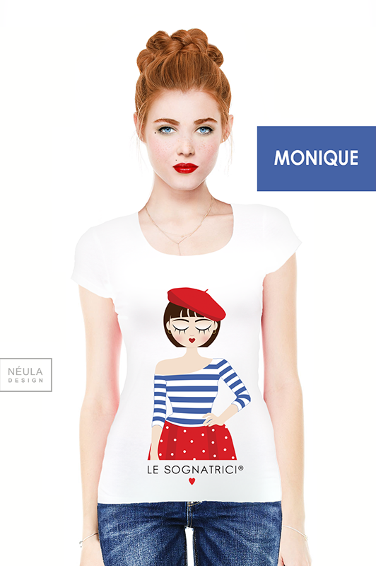 Le Sognatrici - Monique - Paris - Tees - T-shirt - Outfit - Bretonne - Francia - Le Sognatrici -