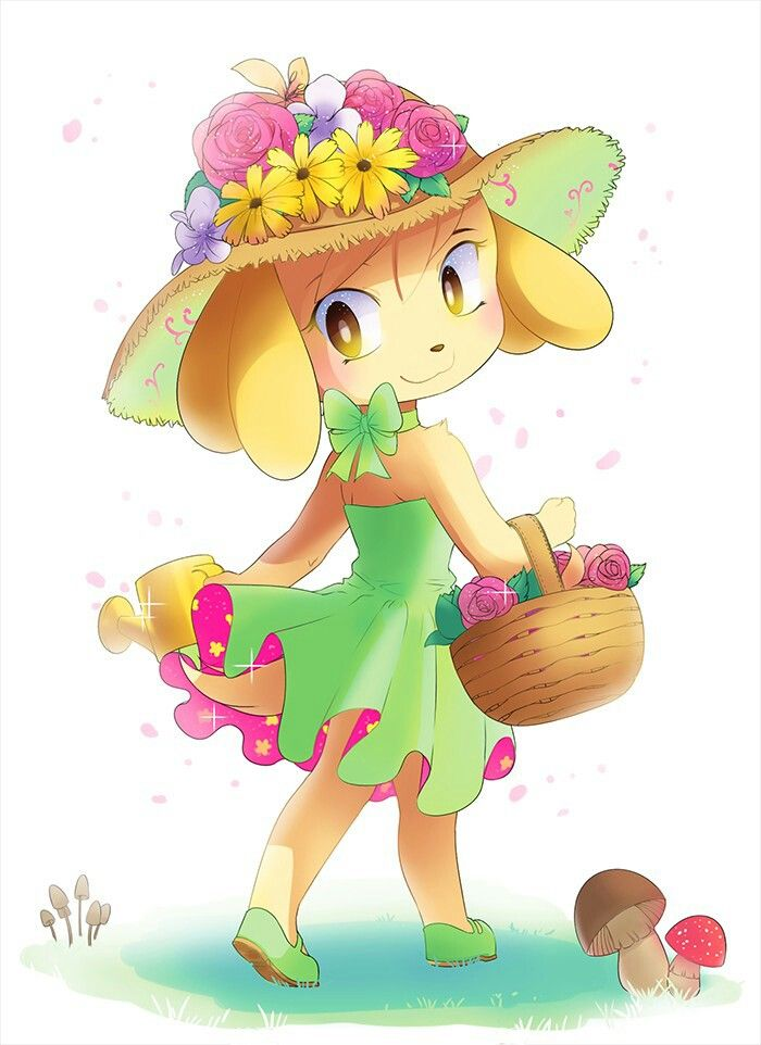 Isabelle   Animal crossing characters, Animal crossing