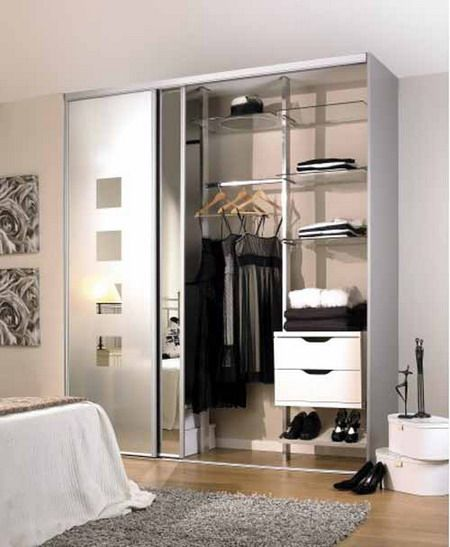the pros and cons having sliding cupboard doors in your bedrooms