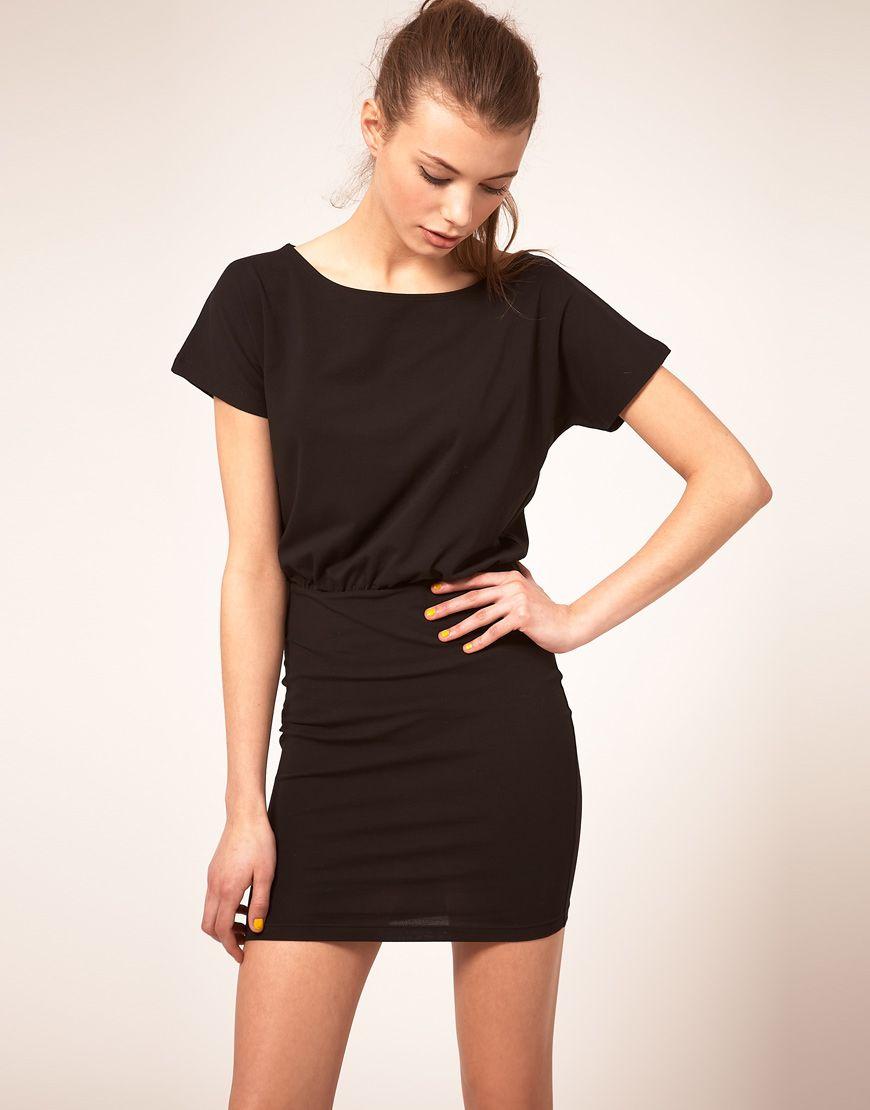 ASOS T-shirt Dress with Tight Skirt  9cfd75e70e33